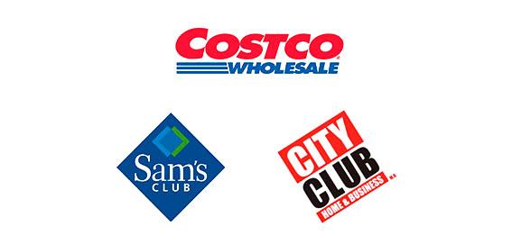 Puntos de venta, sams, city club, costo